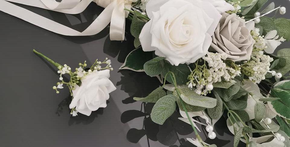 Flat Back Bouquet