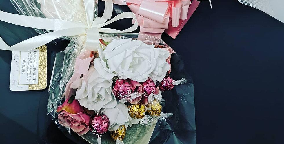 Chocolate Floral bouquet Lindor or Ferrero Rocher