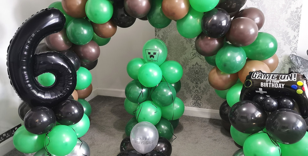 Minecraft balloon bundle
