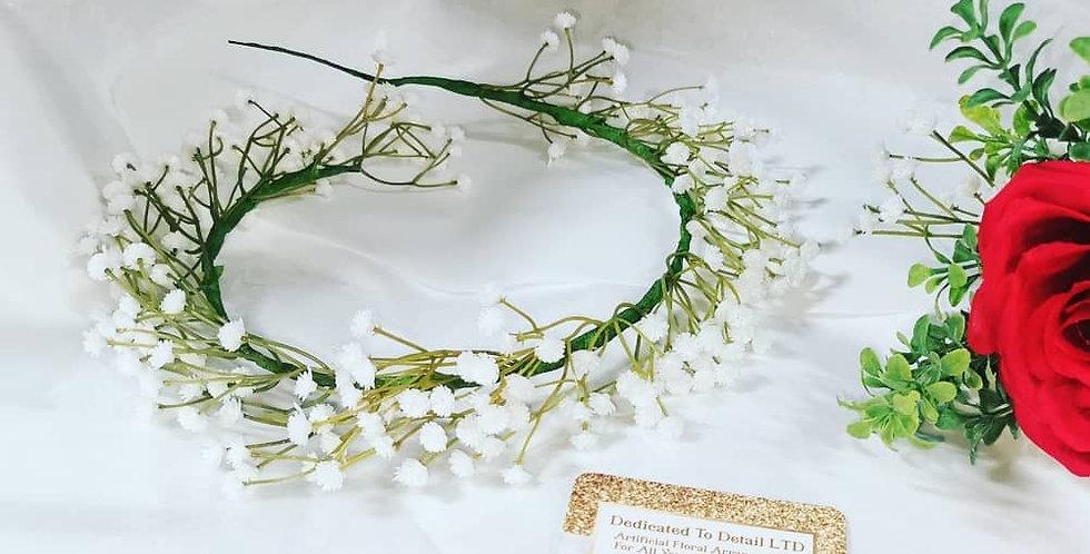 Gypsophilia floral crown