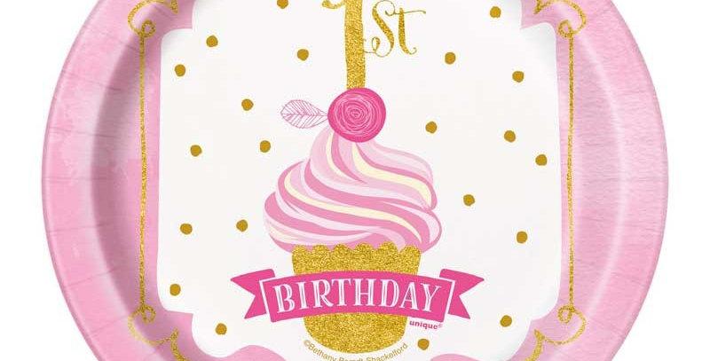 Princess 1st birthday set