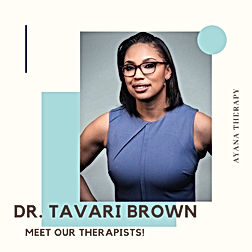 Dr. Tavari Brown