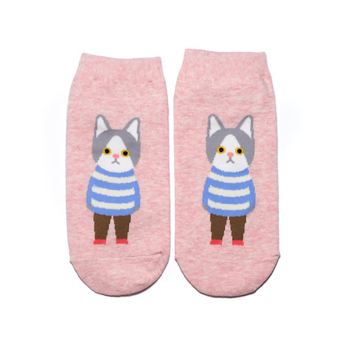 Charmante Katze - Pink