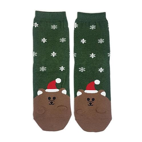 Weihnachtsmützli - Bär