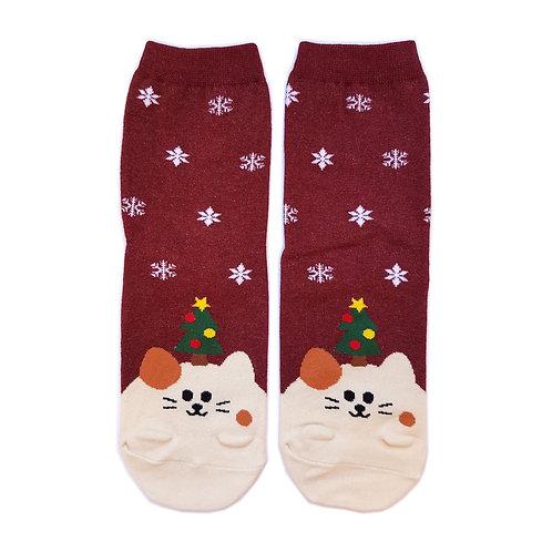 Weihnachtsmützli - Katze