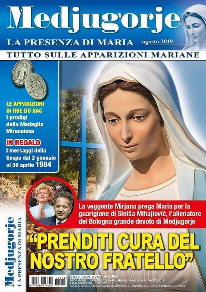 Mensagem extraordinária de Nossa Senhora em 12/08/2019