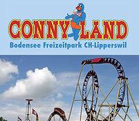 Flyer mit Achterbahn Conny-Land