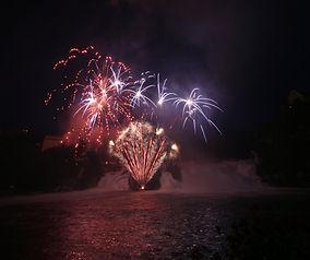 Feuerwerk Rheinfall