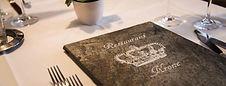 Speisekarte Restaurant Krone