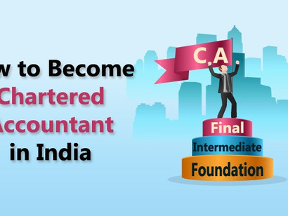 How To Become A Chartered Accountant In India.