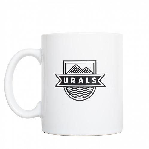 Кружка URALS Basic Logo бел