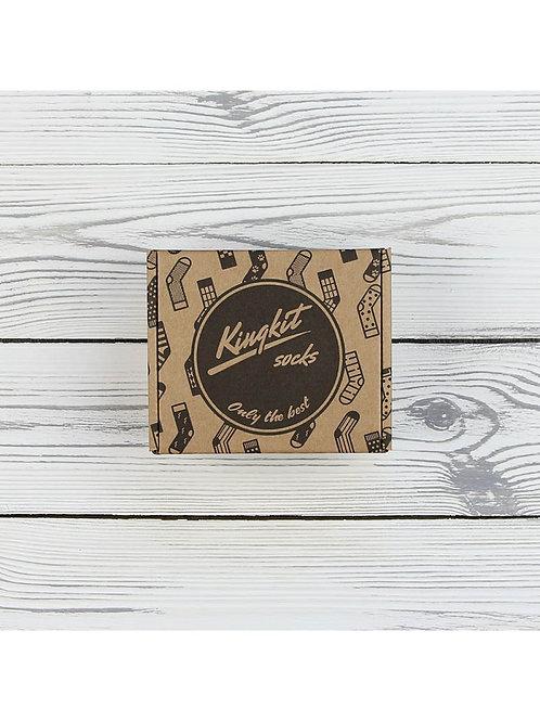 Коробка KingKit крафт 1-3 пары