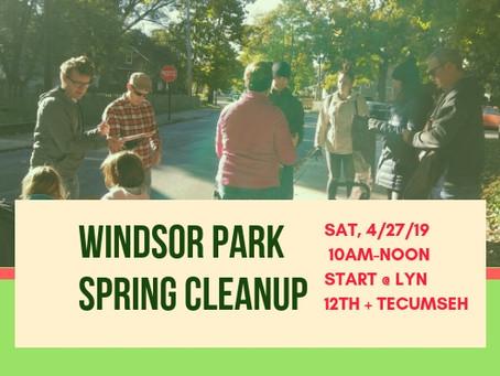 You can help make Windsor Park shine!