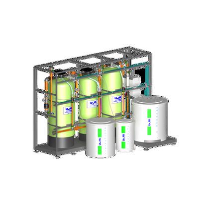 Desmineralizador 3 Vasos