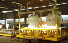 Conjunto Separador Centrífugo para remoção de areia SRA-60 para Plataforma PCH-2
