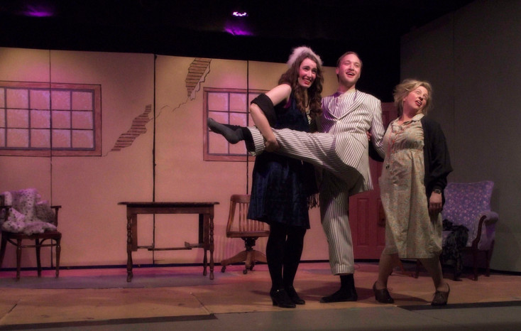 Miss Hannigan Rooster and Lily 2.jpg