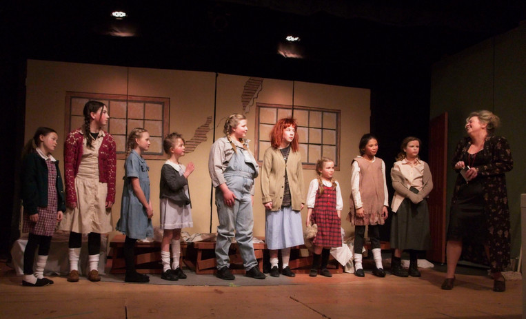 Orphans and Miss Hannigan.jpg