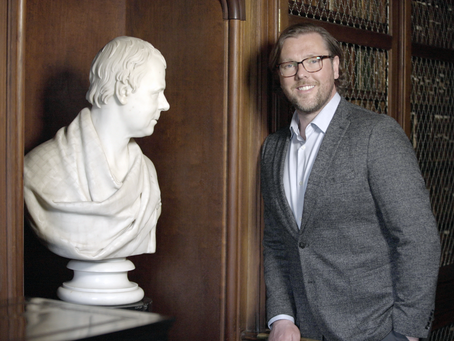 Damian Barr presents new BBC doc to mark 250th anniversary of the birth of Sir Walter Scott