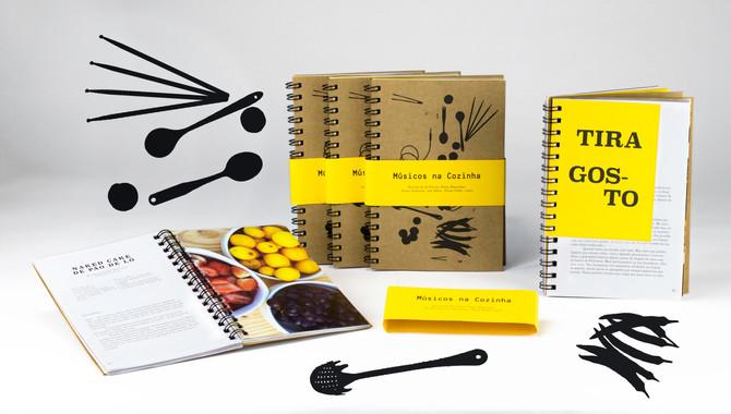 O Livro Músicos na Cozinha