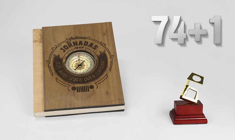 1º colocado no 26º Prêmio Fernando Pini 2016 Categoria: Agendas Produto: Incríveis Jornadas Cliente: Casa Comunicação