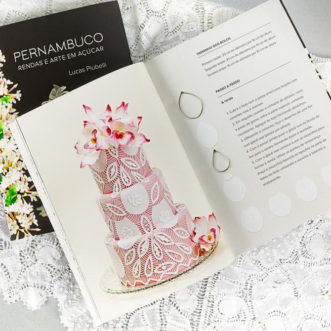 Livro Pernambuco Rendas e Artes em Açúrcar