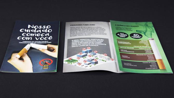 Folder Programa Fumo Zero