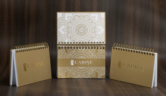Caderno Cabine Fashion