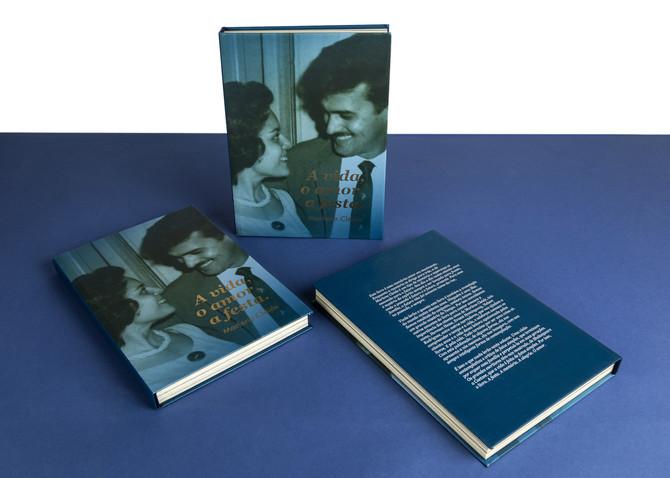 O livro A vida, o amor, a festa.
