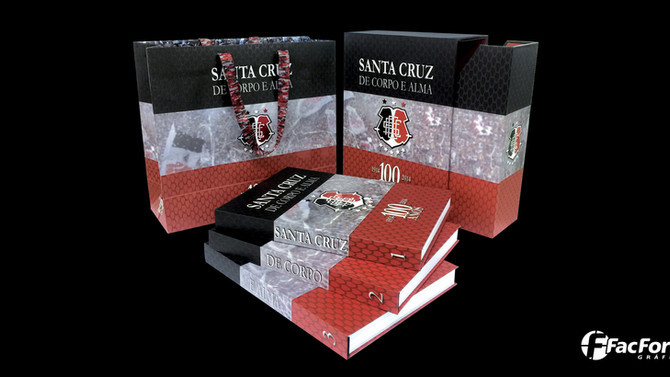 A história é do Santa Cruz, mas a impressão é nossa!!!