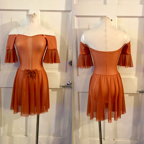 50's inspired mesh dress