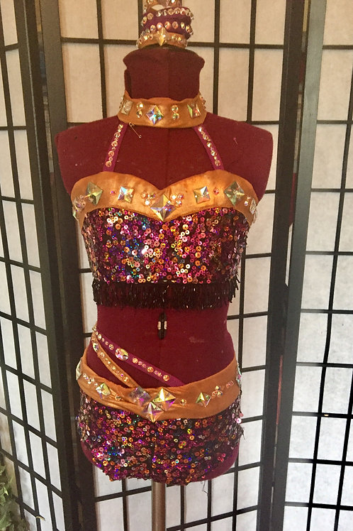 Custom Sassy Jazz costume