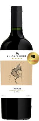 El Capricho Reserve Tannat 2015