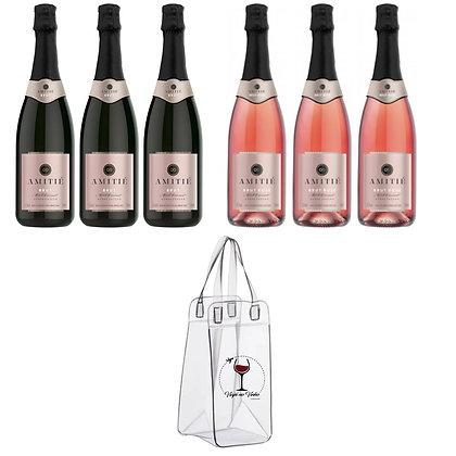 Combo Amitié Brut +Wine Bag