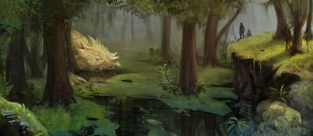 Sleeping Swamp Beast