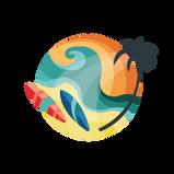 Surf & Sun Icon