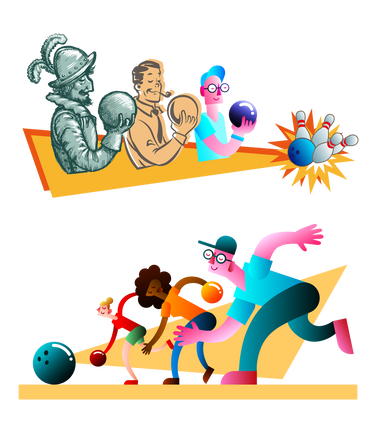 Bowling Through the Ages