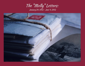 """Book Cover for  """"The Molly Letters"""""""