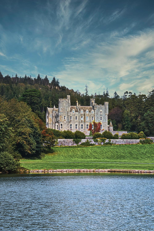 Isolated, beautiful English estate