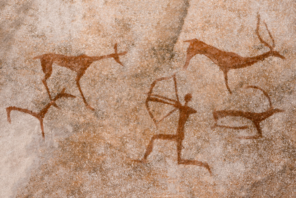 Cave drawing...Early emoji