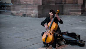 Be Like the Cellist of Sarajevo to Overcome Fear