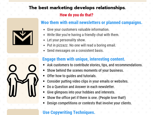 Mastering Your Marketing Infographic