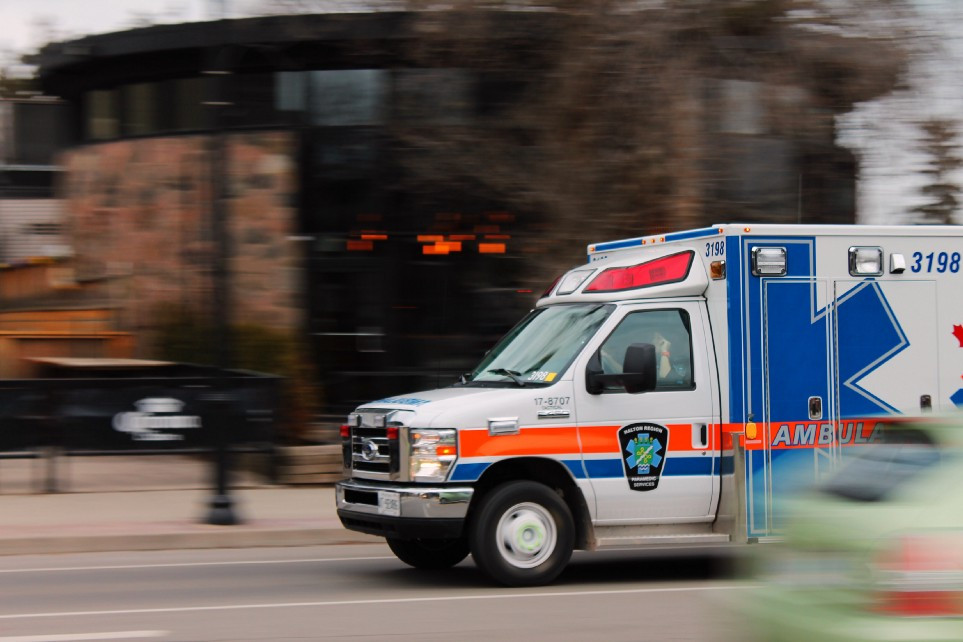 Ambulances during the pandemic