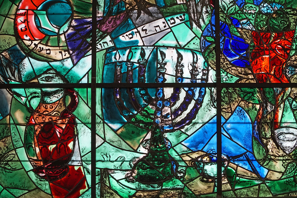 Chagall's Stained Glass Windows