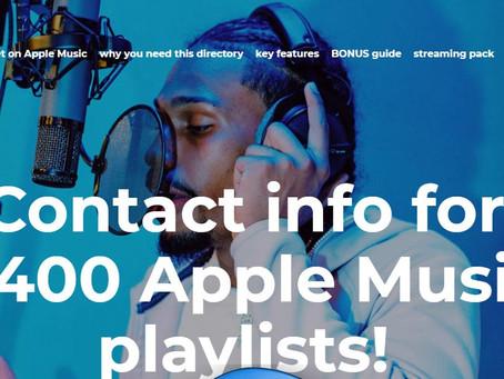Apple Music...