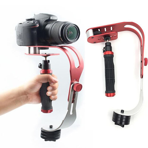 Alloy Aluminum Mini Handheld Digital Camera Camcorder Stabilizer Video Steadicam