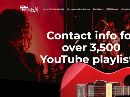 The Indie YouTube Bible.....