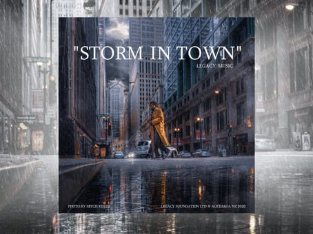 """Storm in Town,"" Official Digital Single"