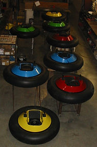 bumper car manufacturer, krazee kid bumper cars