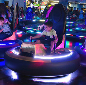 hinkle family fun center bumper cars. RDC Bumper Cars. dodgems, amusement rides.
