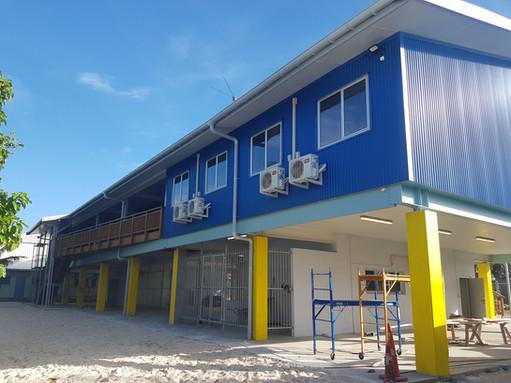 TUVALU FISHERIES MANAGEMENT BUILDING